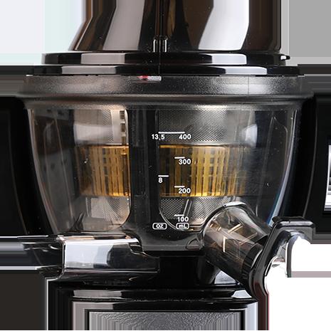 EVO820 Juicer Bowl Side View